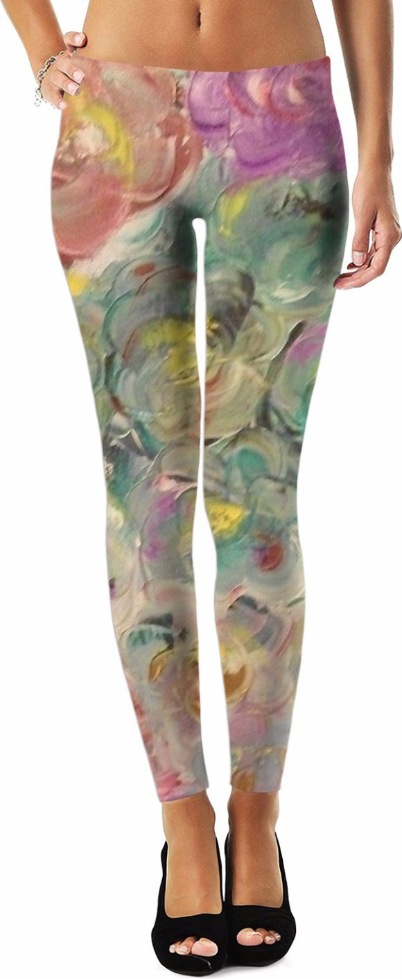 Floral Rhapsody Design - Leggings