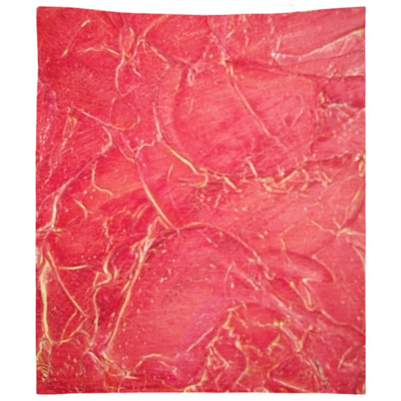 Orange Crackle Swirl Design - Tapestries