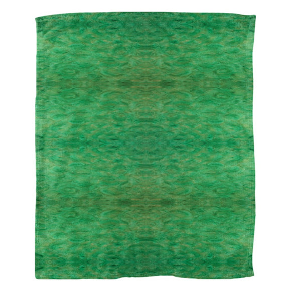 Green Gold Design - Fleece Blankets