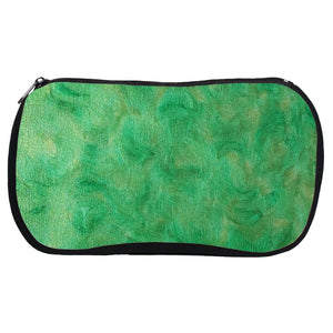 Green Gold Swirl Design - Cosmetic Bags