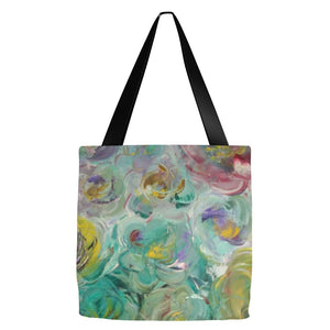 Floral Rhapsody Design - Tote Bags