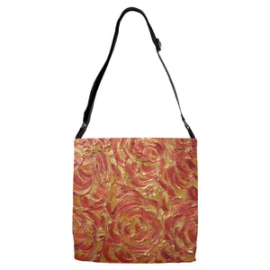 Glory Be Swirl Design - Adjustable Strap Totes