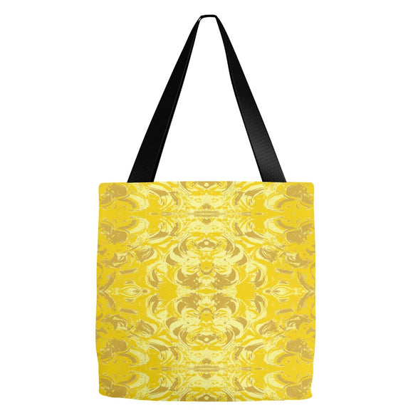 Yellow Glimmer Design - Tote Bags