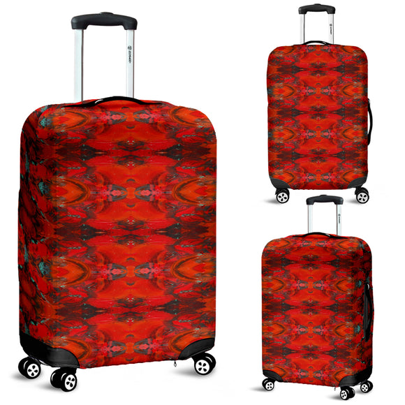 Red Renaissance Enhanced Design - Luggage Covers
