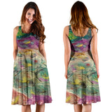 Floral Rhapsody Design - Women's Dresses