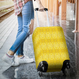 Yellow Glimmer Enhanced Design - Luggage Covers