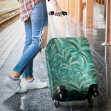 Green Burst Design - Luggage Covers