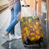 Yellow Glimmer Design - Luggage Covers