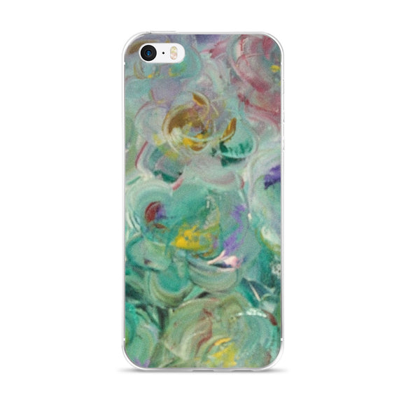 iPhone 5/5s/Se, 6/6s, 6/6s Plus Phone Case - Floral Rhapsody Design
