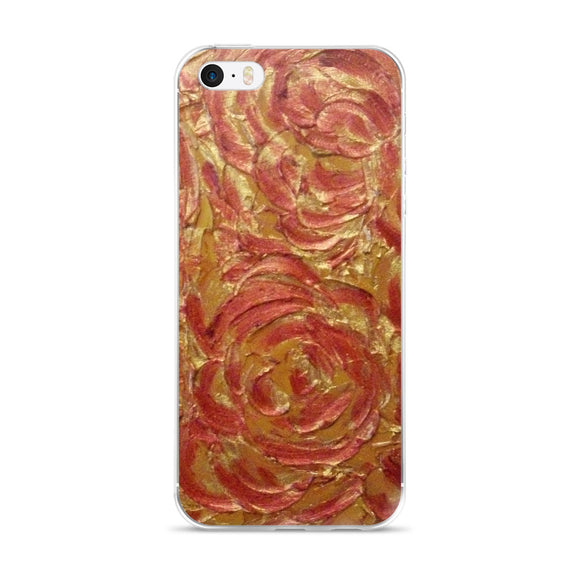 iPhone 5/5s/Se, 6/6s, 6/6s Plus Phone Case - Glory Be Swirl Design