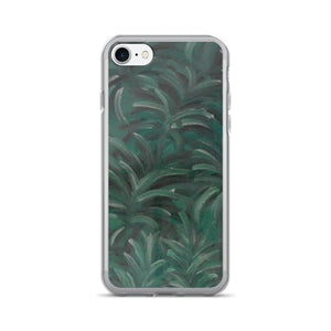 iPhone 7/7 Plus Phone Case - Green Burst Design