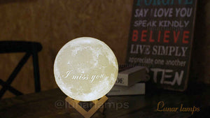 Best Moon Lamp 2019 - Buyer's Guide and Review [NEW update include video]