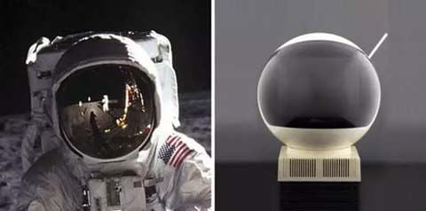 Astronauts' televisions
