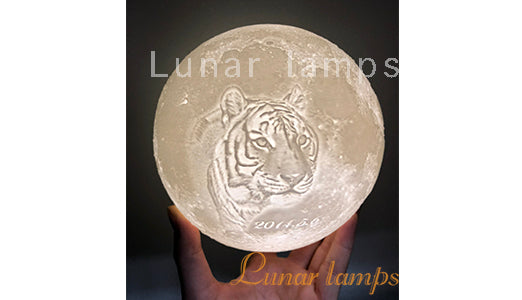 receive moon lamp