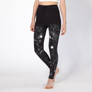 Glow-in-the-Dark Solar System High Rise Leggings