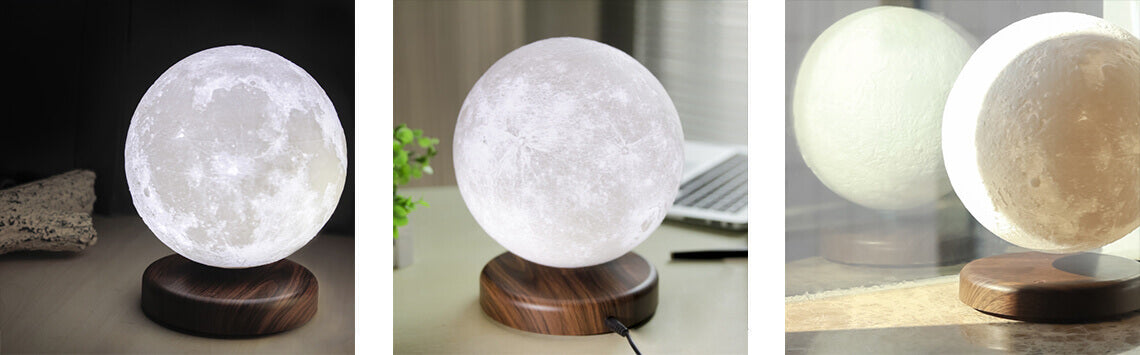 Magical Levitating 3D Lunar Lamp