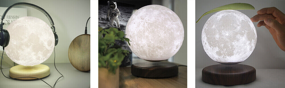 Levitating Moon Lamp Guide and Review - lunar lamps