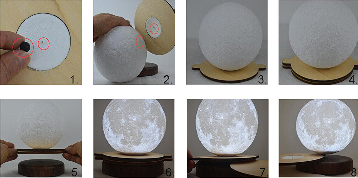 Levitating_moon_lamp_instruction_with_wooden_plate