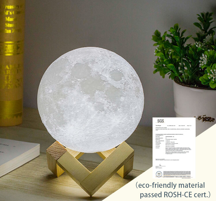 Eco-friendly material Moon lamp - lunar lamps