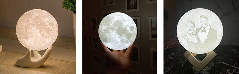 amazing 3D Moon lamp/customize moon lamp