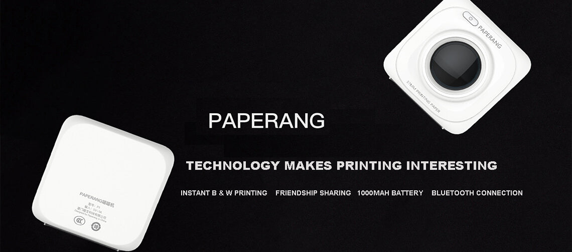 PAPERANG Portable Bluetooth Photo Printer