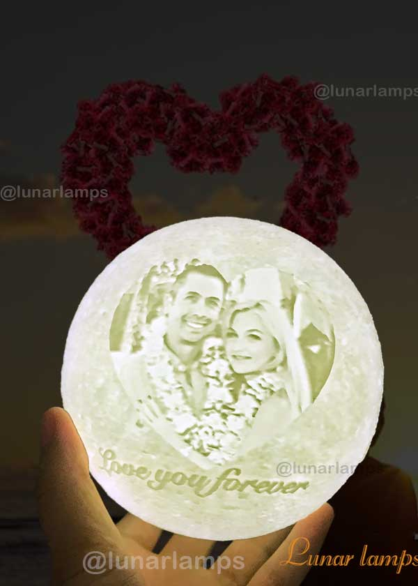photo Moon Lamp for someone you care about
