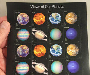 Planets USPS Forever Stamps
