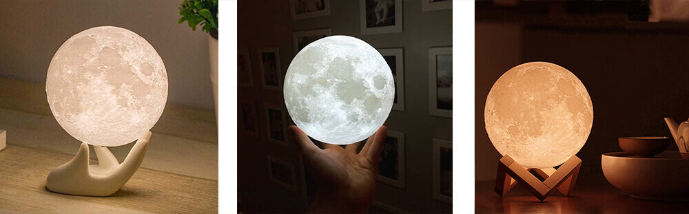 Moon Lamp  Guide and Review - lunar lamps