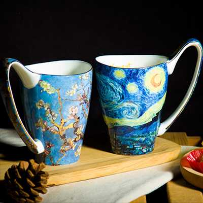 Van Gogh Star Wars Lover Mugs