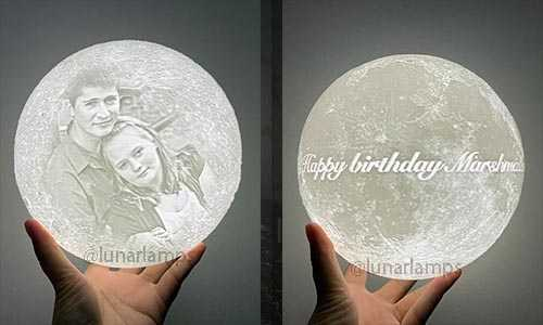 moon lamp for birthday gifts ideas