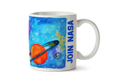 cups for space lover gift