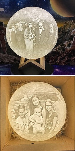 customized Moon Lamp for family