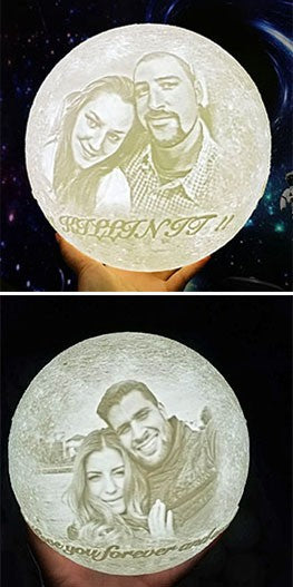 customized Moon Lamp for  lovers