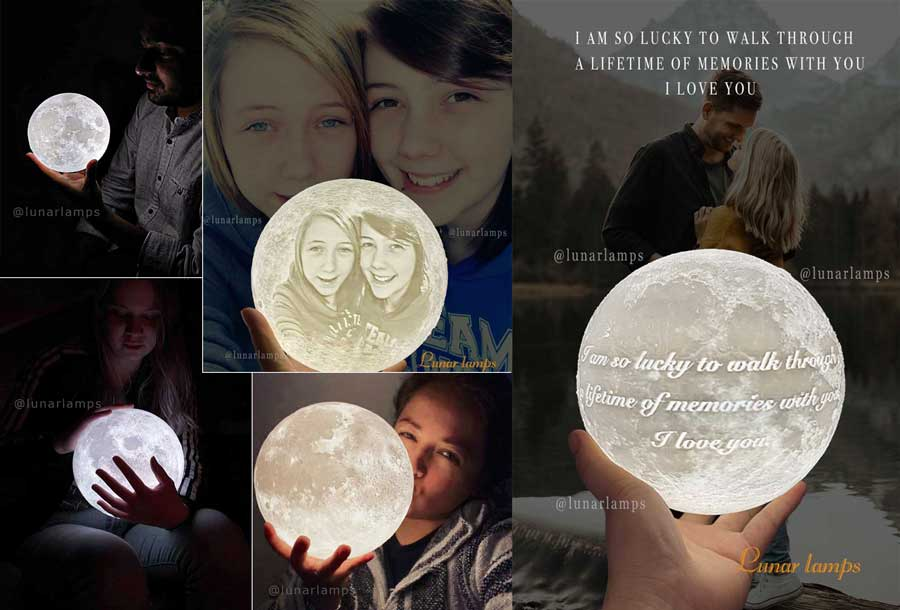 moon lamps gifts