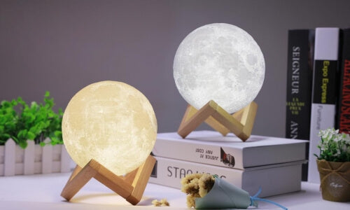 moon lamp gift idear for space lover