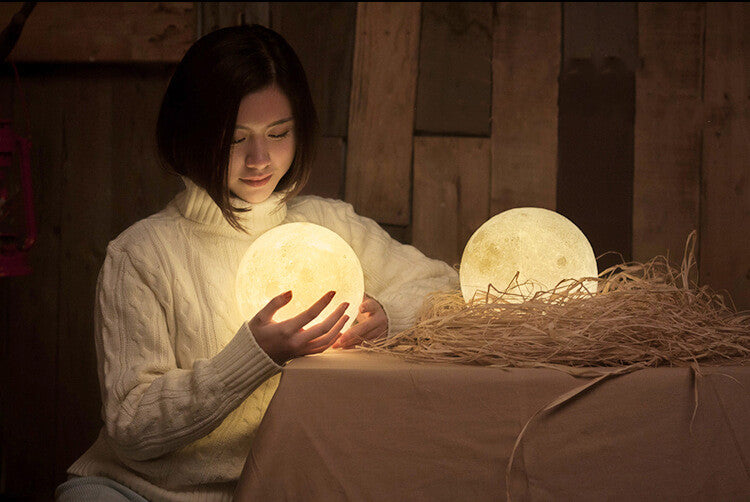 bring the moon lamp in home - lunar lamps