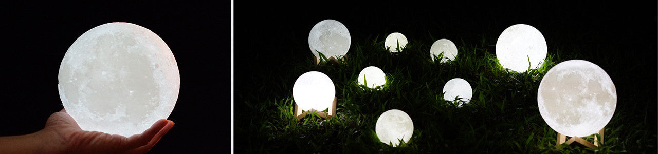 Moon lamp for datenight - lunar lamps