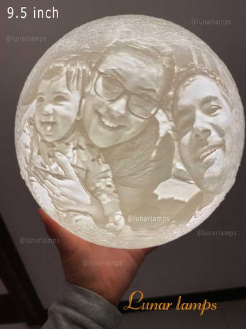 good photo moon lamp