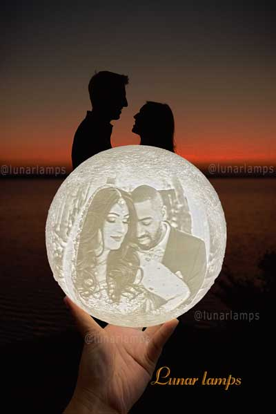 photo moon lamp for you lover in mind