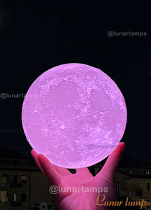 Variety 16 Colors Moon Lamp