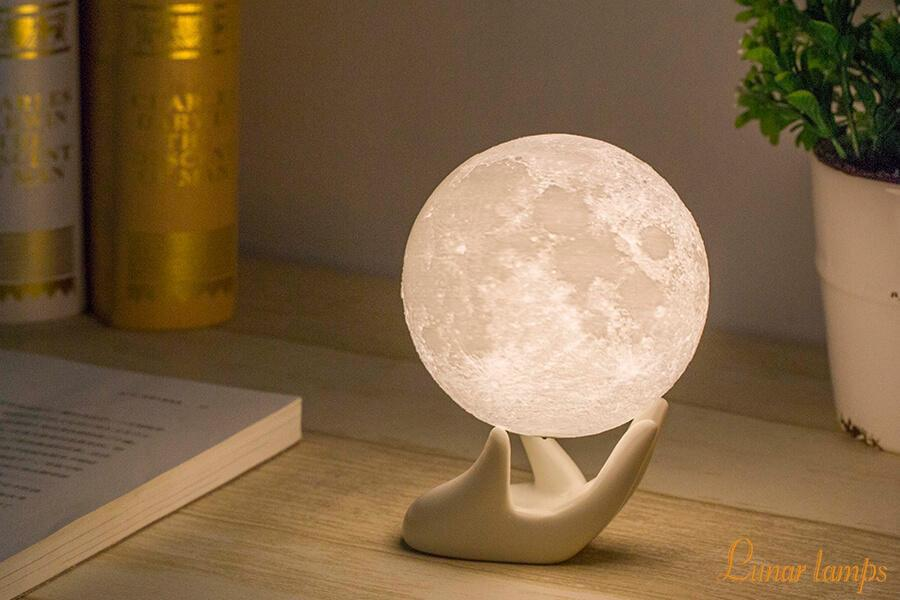 Romantic 3d Moon Lamp Lunar Lamp