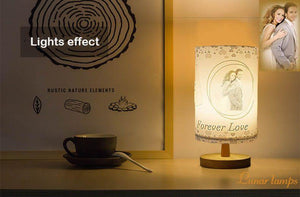 Personalized Bedside Table Lamp