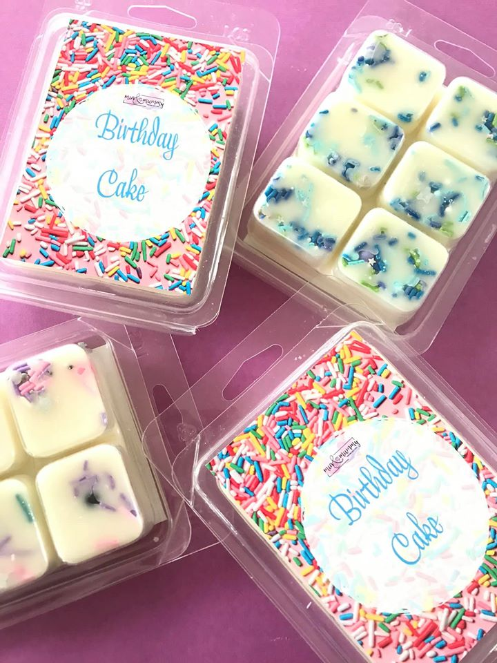 Birthday Cake Clamshell Melts