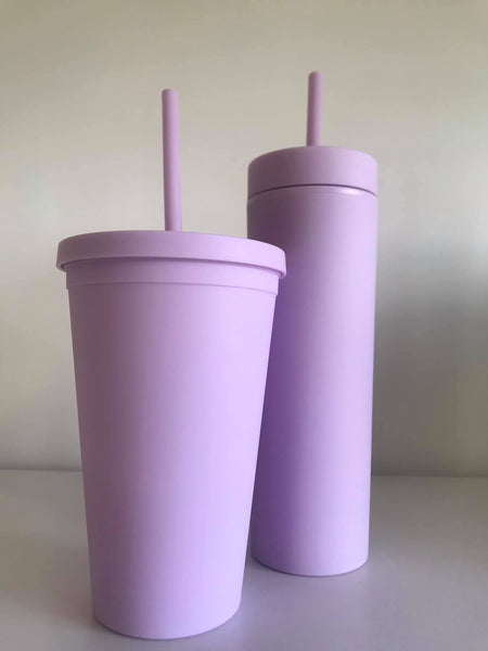 Personlised Tumbler- Light Purple