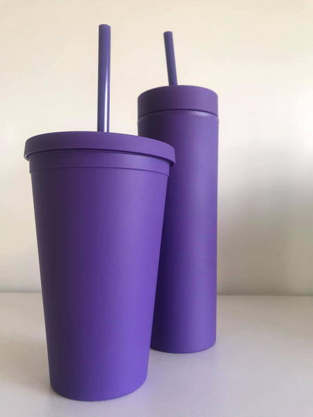 Personlised Tumbler-Purple