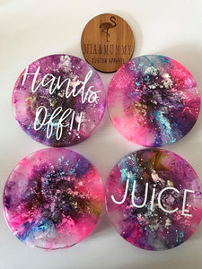 Personalised Coasters- Galaxy