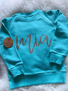 Personalised Name Crew Neck Jumper