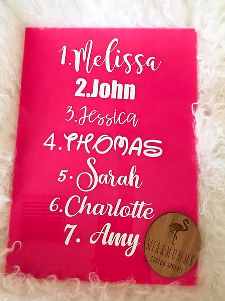 Personalised Pink Double Wall Drink Bottle