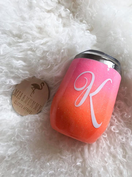 Personalised Sunset Ombre Tumbler