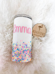 Personalised Tumbler- Confetti Dreams